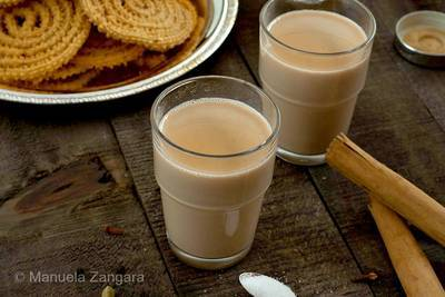 Two cups of chai tea - The Key Turned fiction