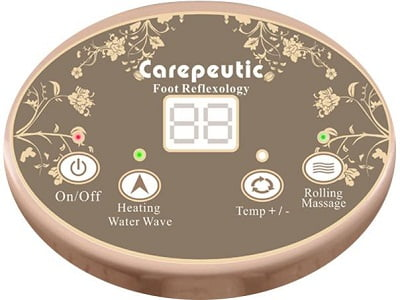 Carepeutic Motorized Foot and Leg Spa Bath Massager 3