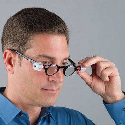 The Only Adjustable Focus Reading Glasses - Lets you change the lens focus every time your vision changes