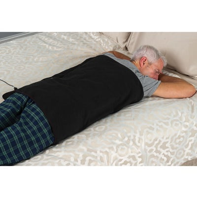 The Deep Tissue Heating Body Pad - A large heated pad that emits far infrared rays to penetrate deep into tissue easing sore muscles and joints effectively