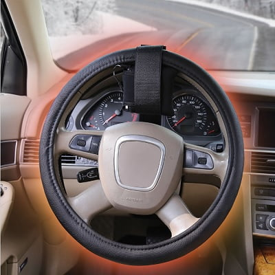 The Warmest Heated Steering Wheel Cover