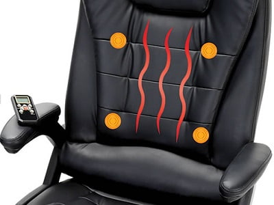 The Heated Massaging Executive Chair 1