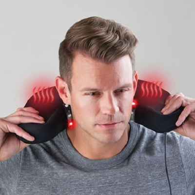 The Neck Pain Relieving Travel Cushion