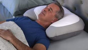 Snore-Reducing-Memory-Foam-Pillow
