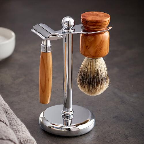 Sherwood Forest Yew Shaving Set