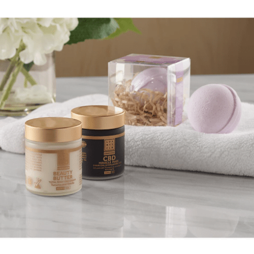 Therapeutic CBD Spa Set1