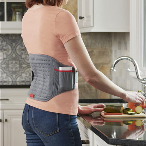 Cordless Wearable Heating Pad
