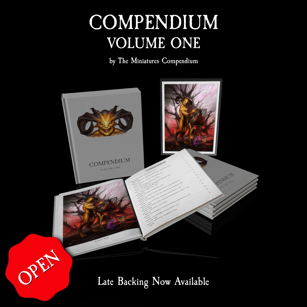 COMPENDIUM: Volume One – Late Backing Open