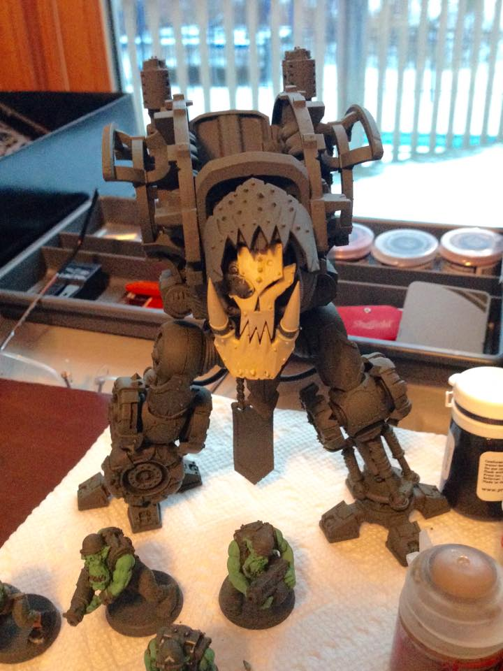 Imperial Knight step 1