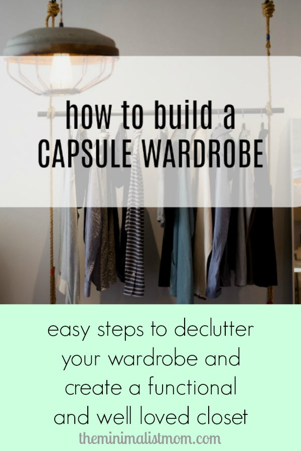 a3e163f38e794 Easy steps to declutter your closet and build a capsule wardrobe.