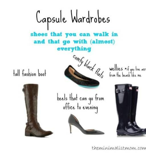 Capsule Wardrobe Shoes   Boots 31222f768e1ed