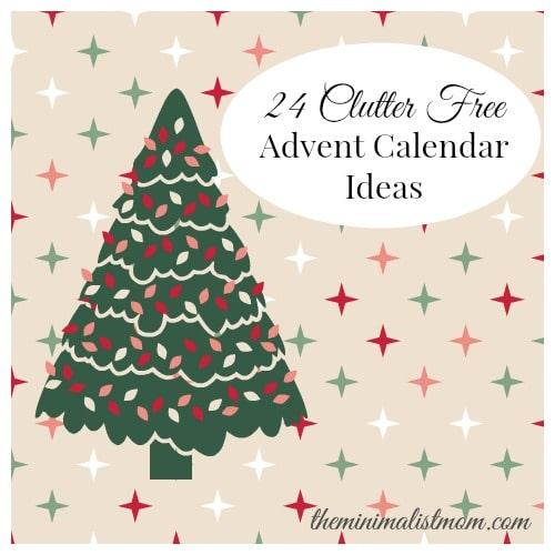 a59544eab 24 Clutter Free Advent Calendar Gift Ideas