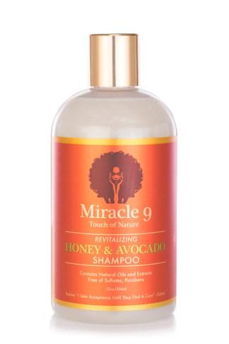Revitalizing Honey & Avocado Shampoo