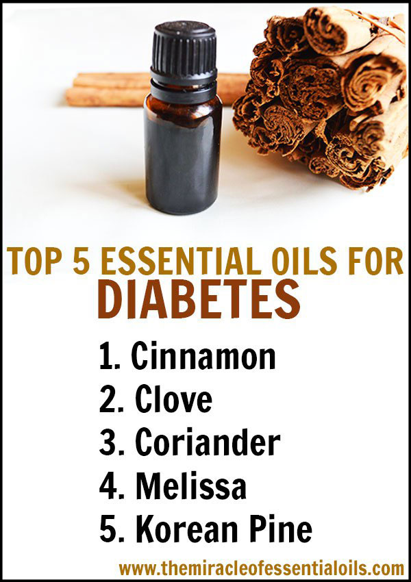 Top 5 Essential Oils For Diabetes Amp 2 DIY Blends To Use