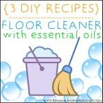 DIY Essential Oil Floor Cleaner