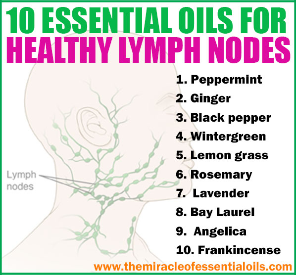 Improve the health and vitality of your lymphatic system by using these essential oils for lymph nodes.