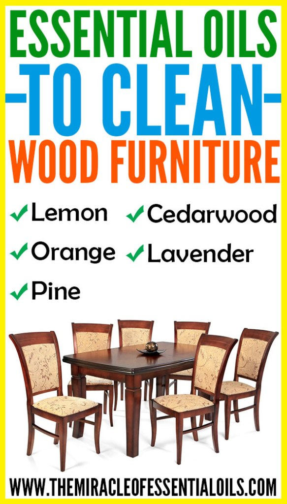 Want to know some good and safe essential oils for cleaning wood furniture? Check them now in this post!