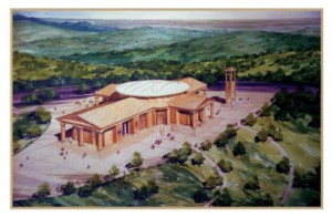 Preliminary Rendering of the Basilica from 1972