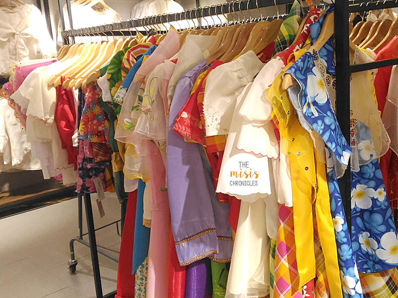 Where to buy Filipiniana costumes for kids | The Misis Chronicles