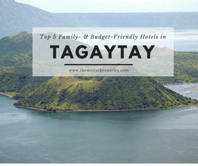 top 5 hotels in tagaytay