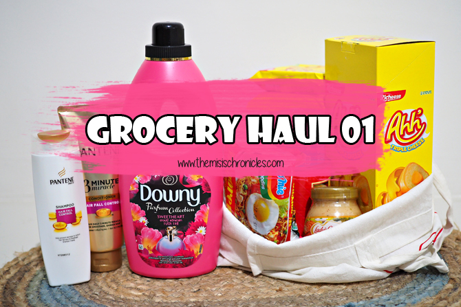 Grocery Haul 01 | The Misis Chronicles