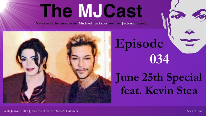 Episode 034 - June 25th Special feat. Kevin Stea Show Art