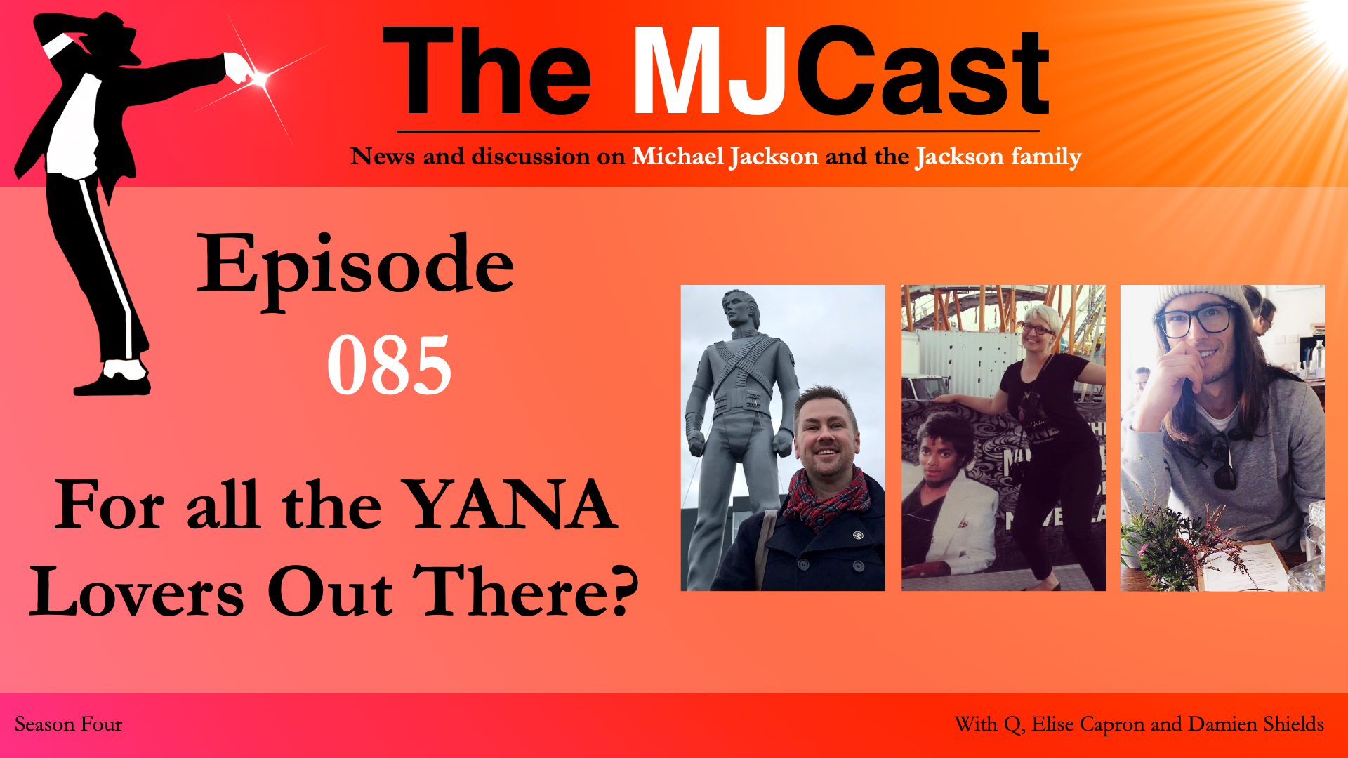 Podcast the mjcast after hosting four epic back to back special episodes jamon takes a well deserved break handing the reins over to q elise and damien shields fandeluxe Choice Image