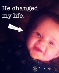 a baby can change you life