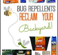 backyard bug repellent