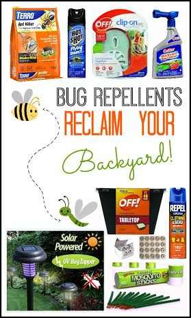 backyard bug repellent