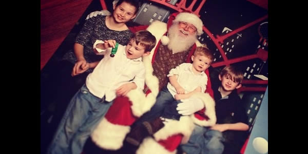 Photos with Santa Clause