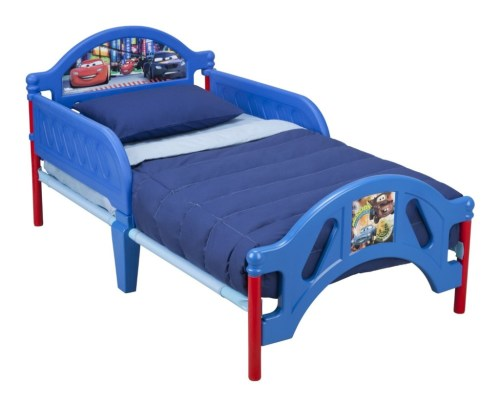 cars mission unstoppable toddler bed