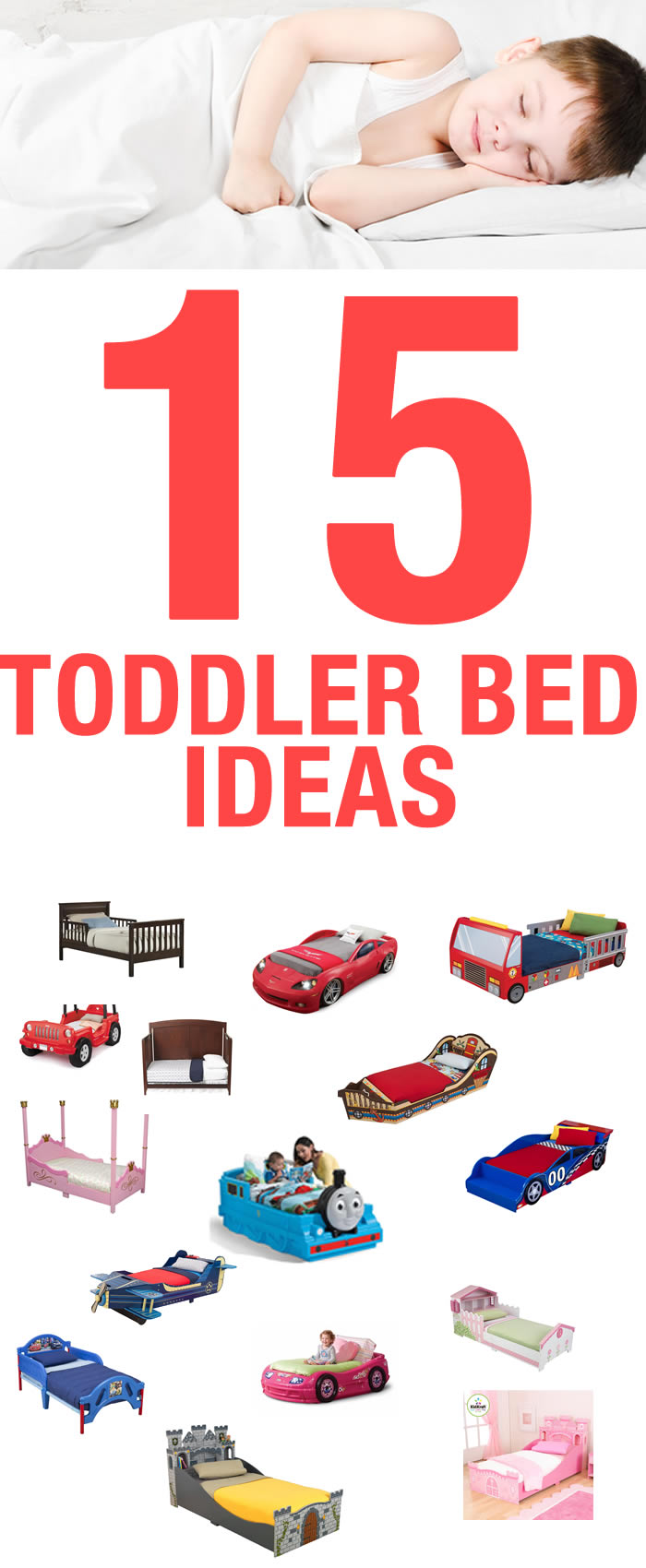 15 Toddler Bed Ideas