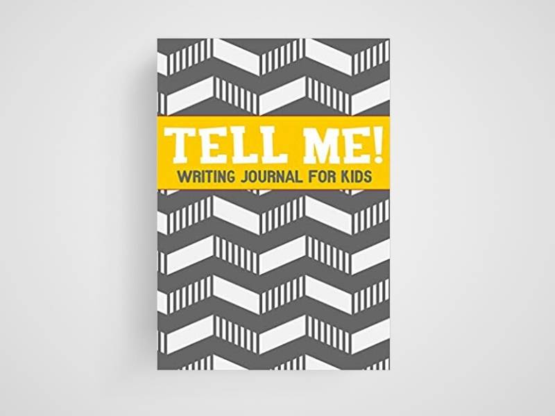tell me writing journal for kids