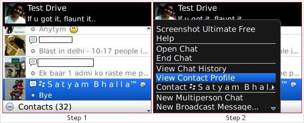 How to link BlackBerry Messenger contacts to BlackBerry Address Book