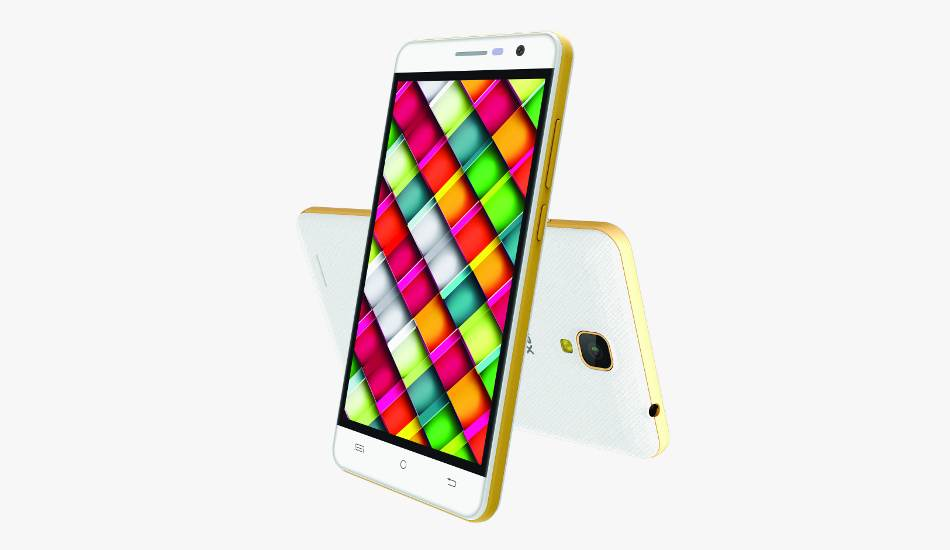 Intex Cloud Crystal 2.5D launched at Rs 6,899, offers 3 GB RAM