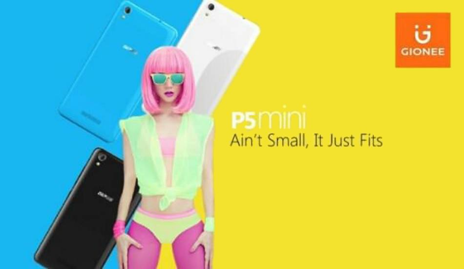 Gionee P5 Mini now available in India at Rs 5,349