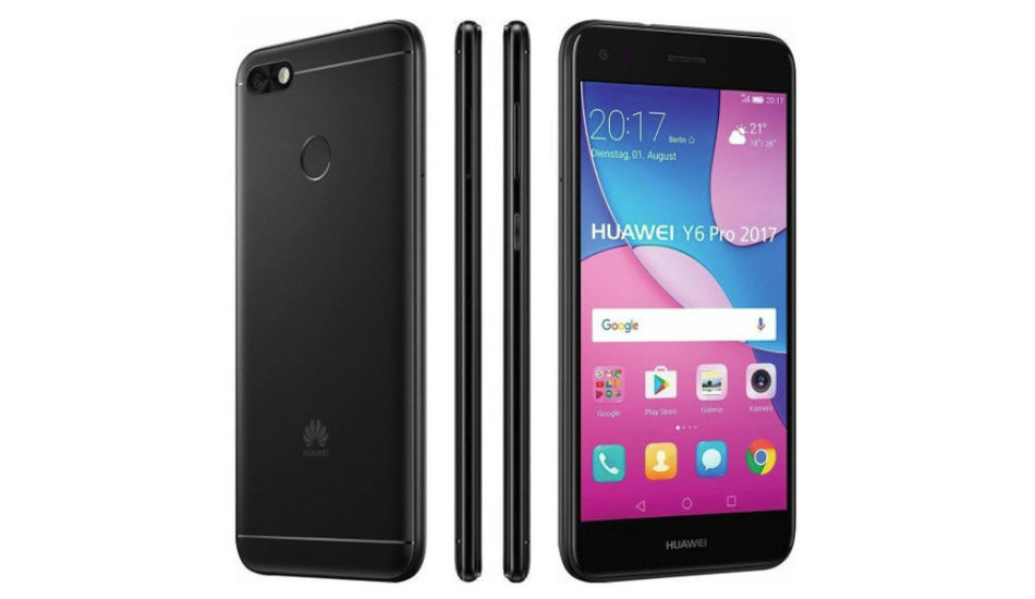 Huawei Y6 Pro (2017) with 13-megapixel rear camera, 5-inch display announced