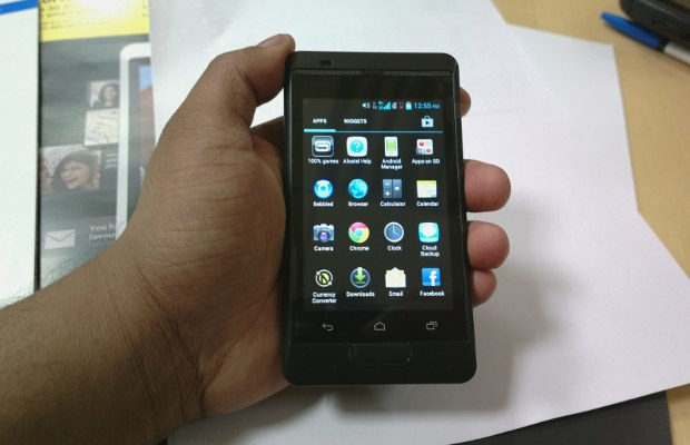First look: Idea Ivory 3G smartphone