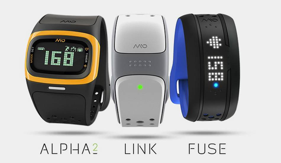 Mio enters India with four fitness bands with heart rate monitor