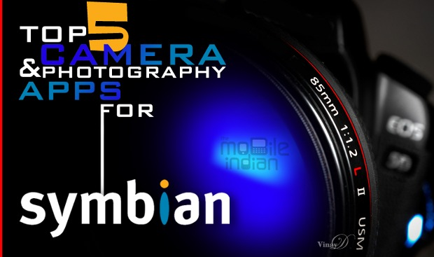 Top 5 Camera apps for Symbian