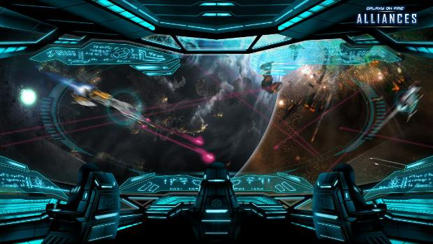 Galaxy on Fire Alliances, the new word in MMORTS