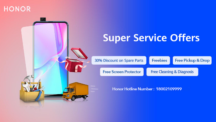 Honor introduces 'Super Service Offers' for its customers in India