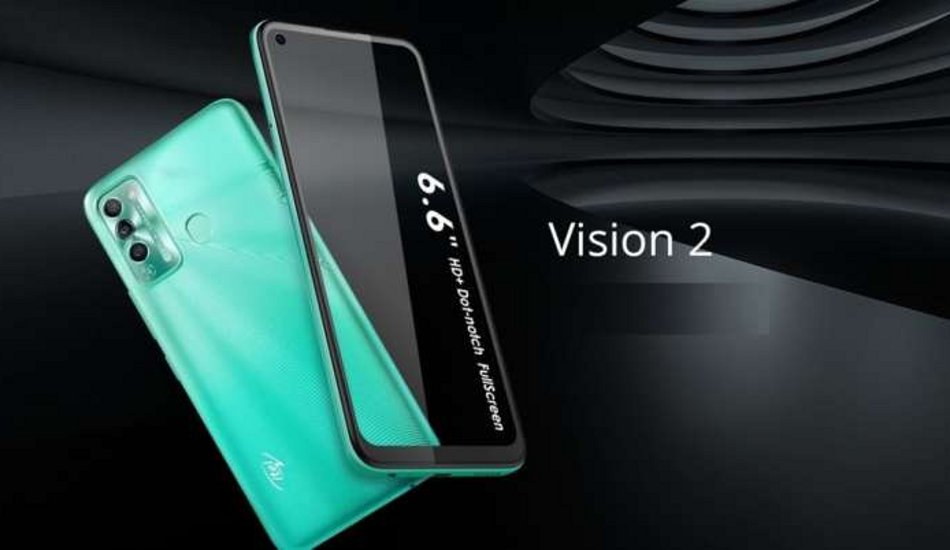 Itel Vision 2 launched in India at Rs 7,499
