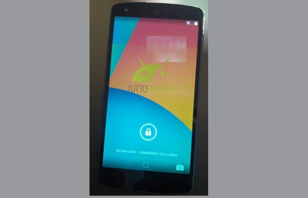 Google Nexus 5 with Android 4.4 KitKat spotted in a video