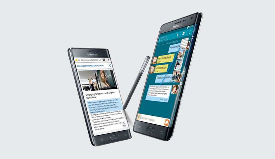 Samsung Galaxy Note Edge up for pre-order, releasing this Jan 5