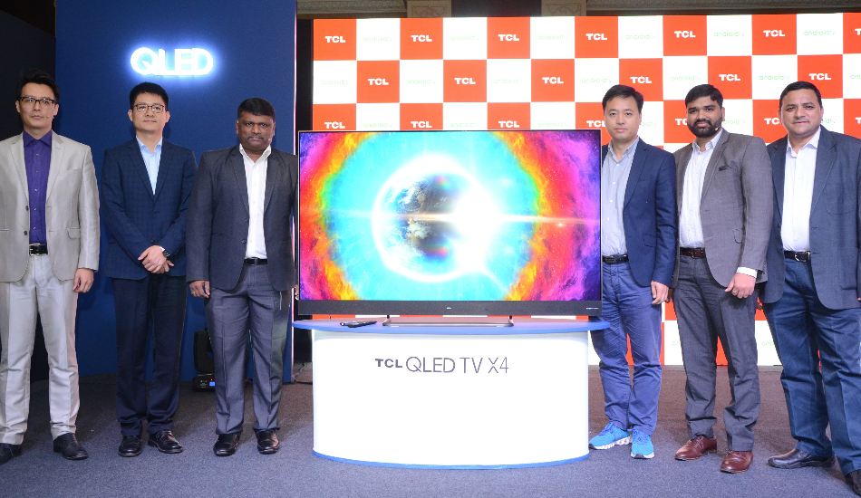 TCL launches P725 4K HDR LED TV Series With Android 11, Smart AC Ocarina Series