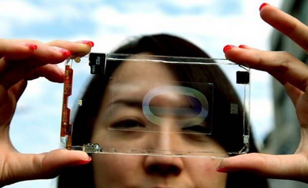 Transparent smartphones coming this year