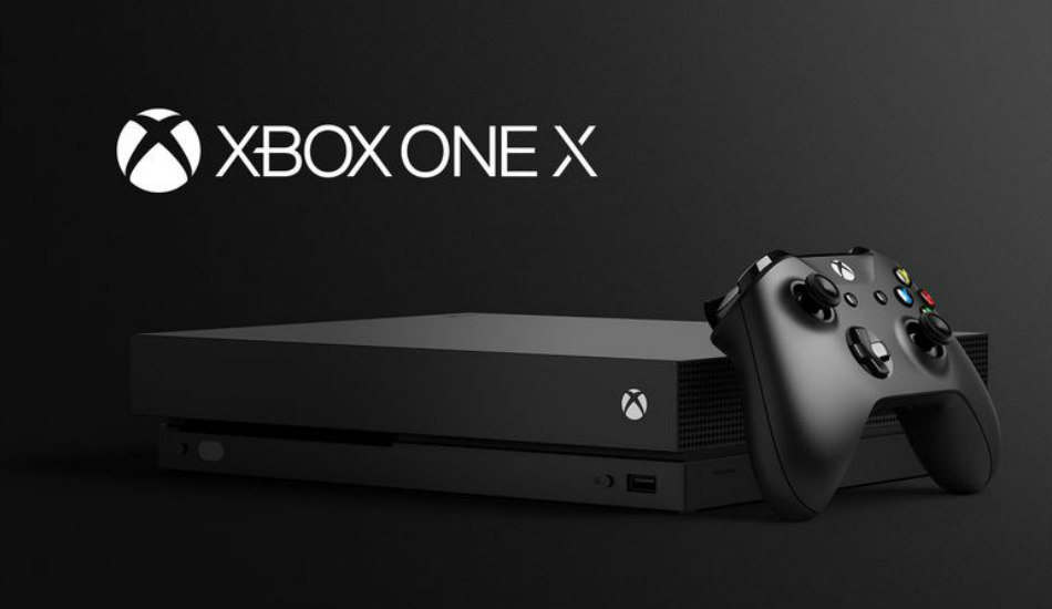 Microsoft Xbox One X with 4K HDR gaming launched at E3