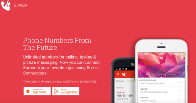 Free disposable phone number – Burner app review – The